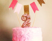 Glamour Princess Cake Banner - Custom Made - LittleMissMraz