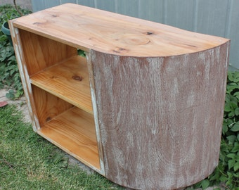 renovated/upcycled retro corner cabinet