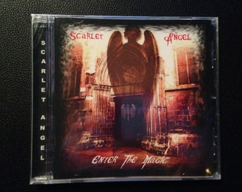 Enter the Magic Cd by Scarlet Angel - Female Fronted Heavy Metal Hard Rock