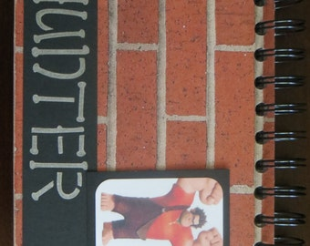 Personalized Disney Autograph & Photo Book - Wreck It Ralph - Ralph - Fix It Felix Jr - Felix
