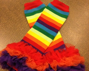 Rainbow leg warmers, rainbow brite, rainbow dash leg warmers, rainbow, leg warmers
