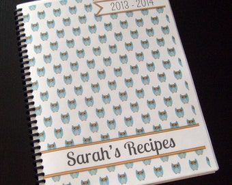 Recipe Book Custom Title Spiral Snap Binding Full Color