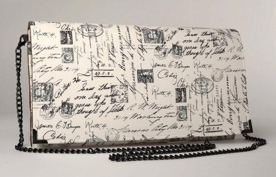 Vintage parigi frizione cartoline scritte a mano bianco e for Scritte vintage