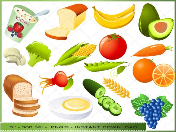 Healthy Foods Clipart Food Clipart Clip Art ...