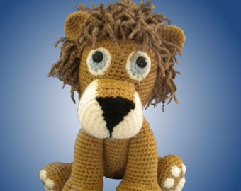 Amigurumi Zaki the lion baby Guide