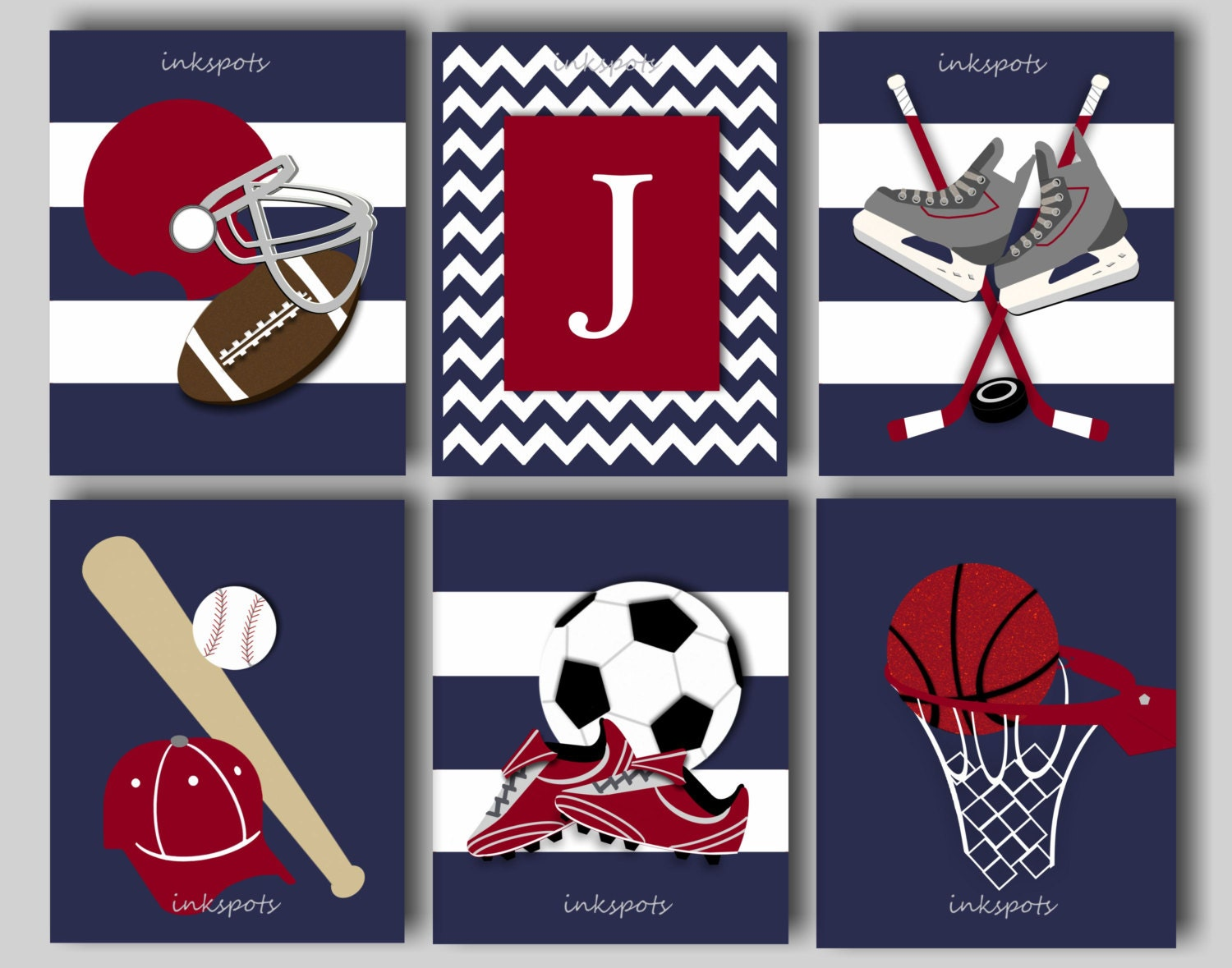Baseball art baseball nursery baseball decor football wall for Boys wall art