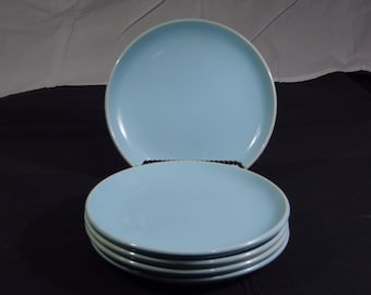 1 (5 Available) Scarce Russel Wright Iroquois Casual POWDER BLUE Dinner Plates