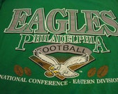 Early 90's Philadelphia Eagles T-Shirt - Old School