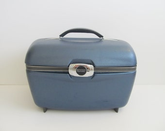American Tourister Luggage, Suitcase, Vintage Luggage, Train Case, American Tourister, Vintage Train Case, Vintage Luggage