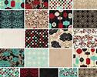 Serenity fat quarter bundle FREE SHIPPING by Bo Bunny for Riley Blake