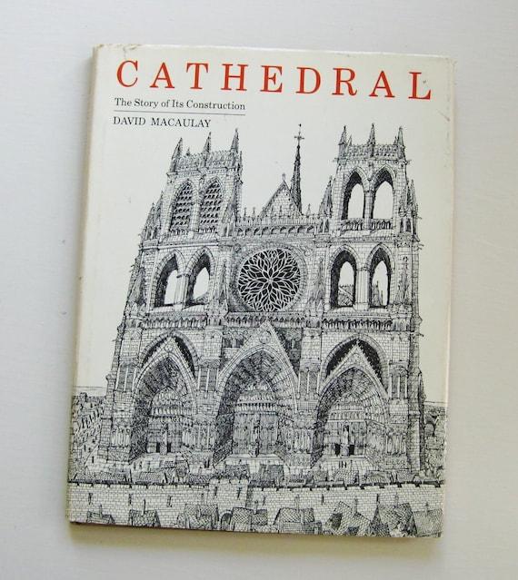 "First printing, David Macaulay's ""Cathedral,"" 1973."