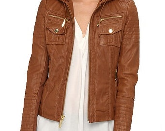 Tan Jacket Women
