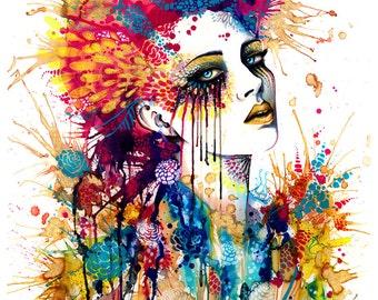 "Art Print ""Flora"""