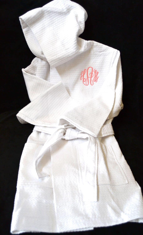 children u0026 39 s monogrammed robe flower girl robe kid u0026 39 s