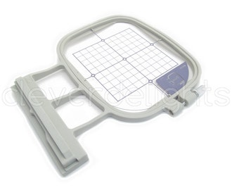 """SA438 Replacement Hoop 4"""" x 4"""" - Medium Embroidery Hoop for Brother Innov-is 1500d 2500d 2800d 4000d 5000d & more - SA438 EF74 Hoop"""