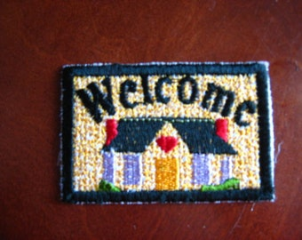 Little Woven Welcome Home Mat for your Miniature Doll House
