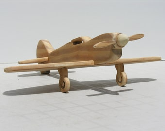 Wooden Fighter Plane