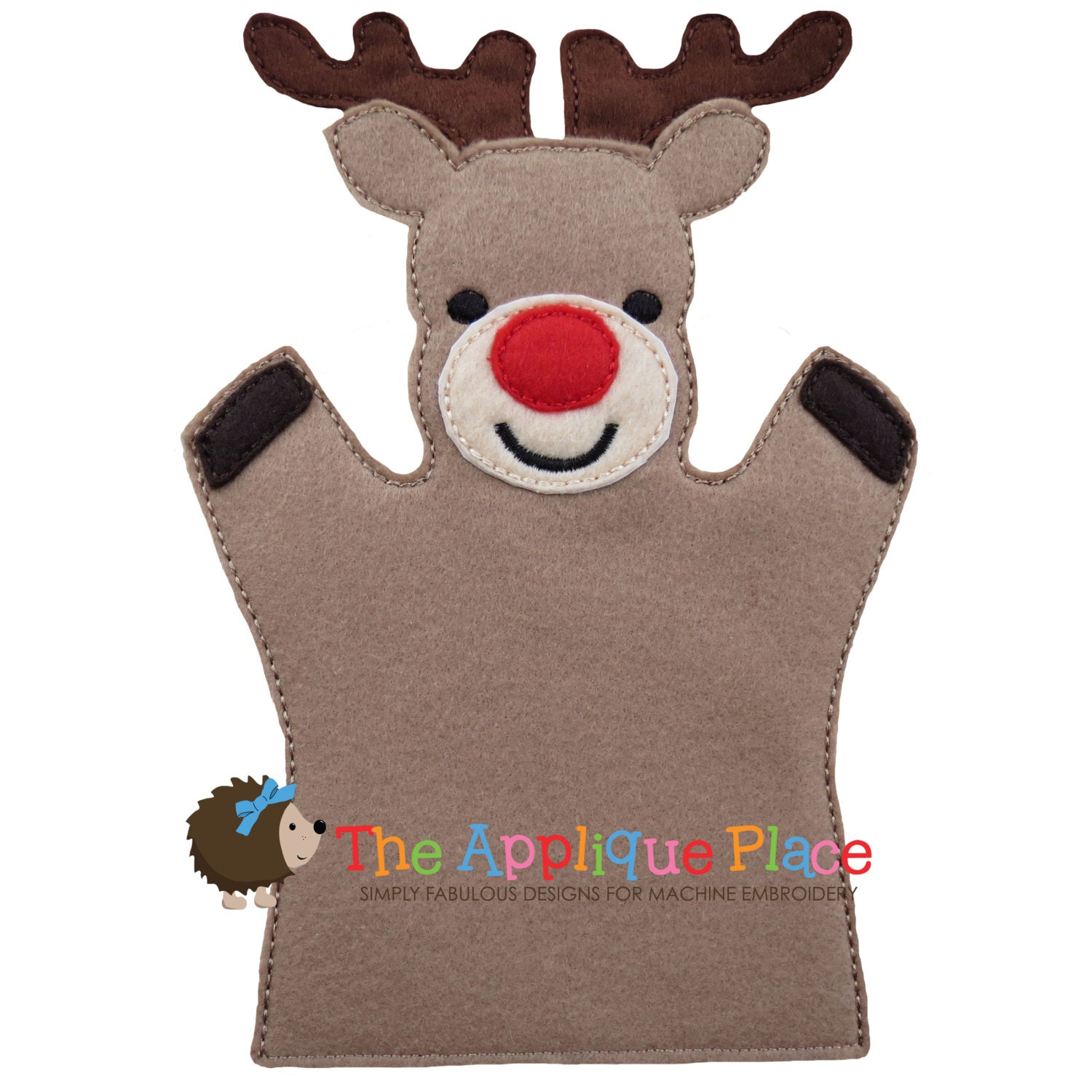 reindeer and dinosaur puppets - photo #19