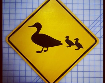 Duck Crossing / Xing Sign