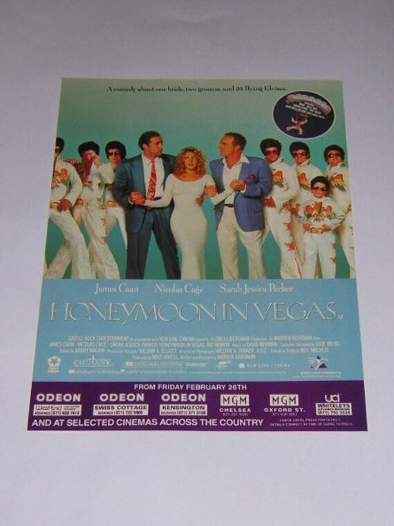 Honeymoon In Vegas Original Advert From By RacingRecollections