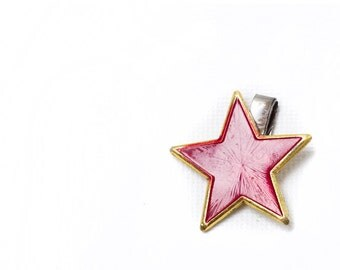Vintage Bulgarian Army Red Star Communist USSR Soviet Badge Pin Christmas, OHTTEAM, Communist memorabilia