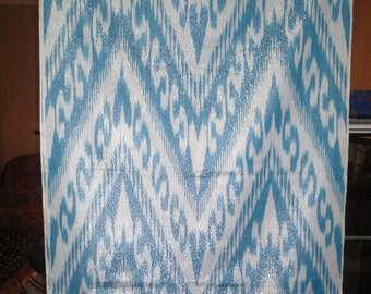 UZBEK COTTON IKAT fabric 100% cotton