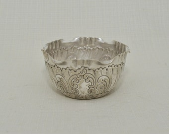 Vintage Silver Plated Sugar Bowl, B.Bohrmann Nachfolger Frankfurt, Germany
