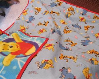 Handmade Winnie the Pooh  Blanket
