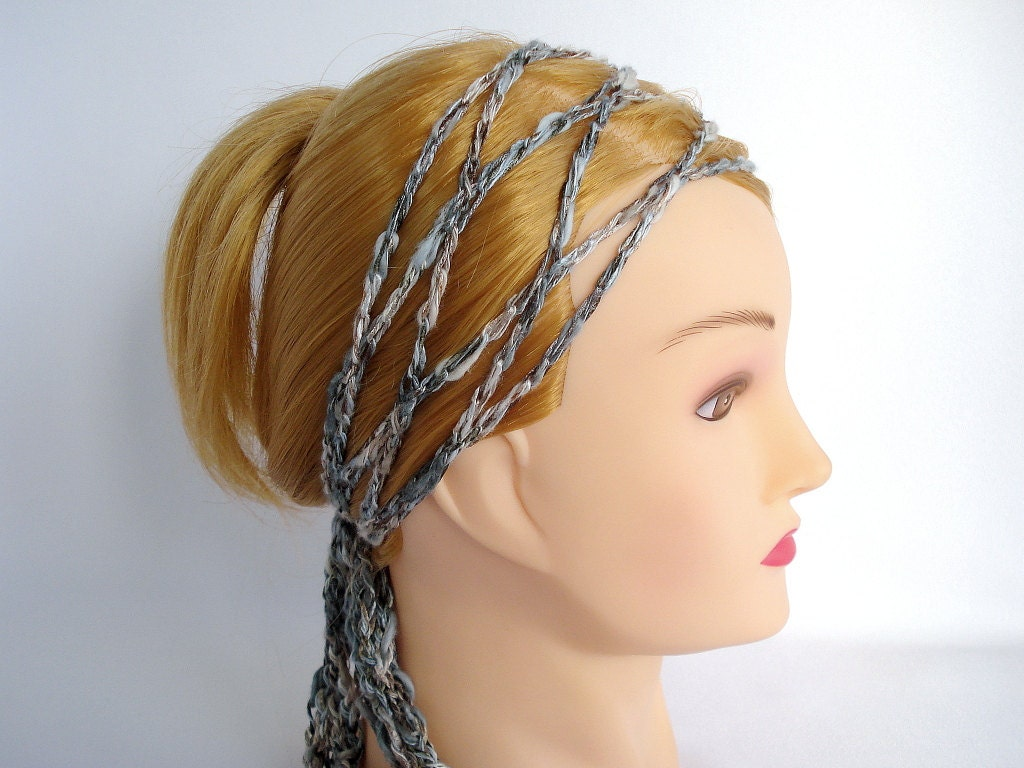 Crochet Hair Wrap : Chandeliers & Pendant Lights