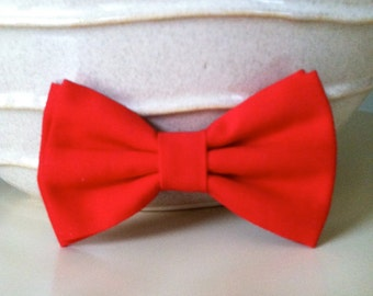 Dog Bow Tie- Red