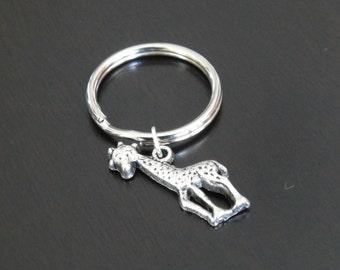 Baby Giraffe Key Chain
