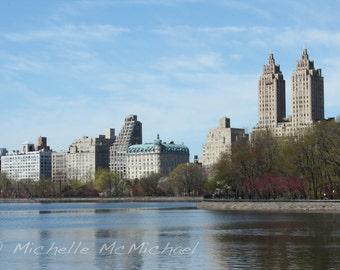 Central Park Photography, New York, 8x12 Fine Art Print, home decor, El Dorado, Spring photography