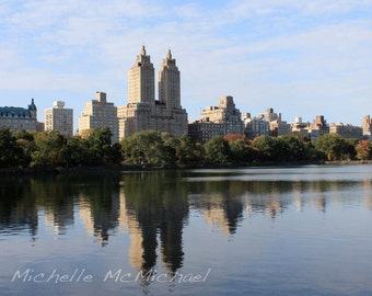 Central Park Photography, New York, 8x12 Fine Art Print, home decor, El Dorado, Fall photography
