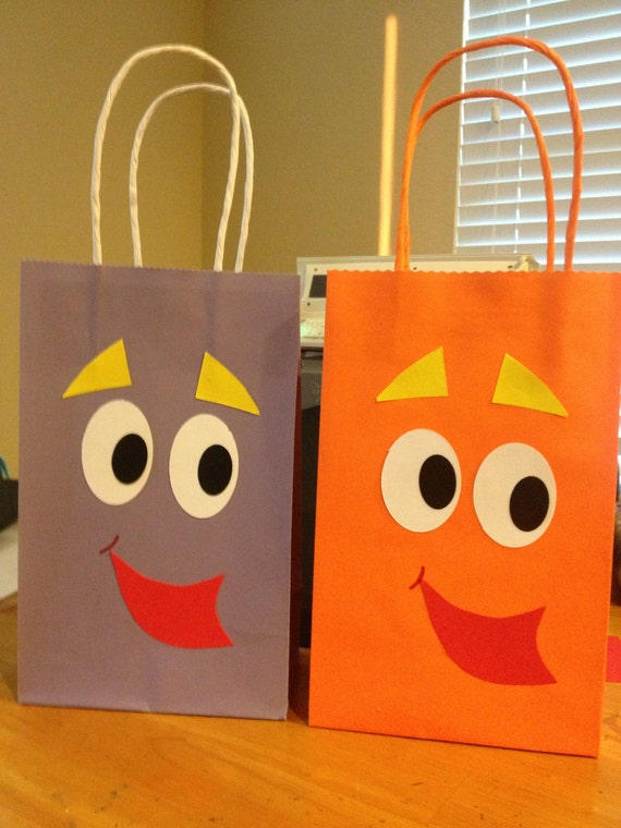 Dora Backpack And Diego Rescue Pack Party Favor Bags