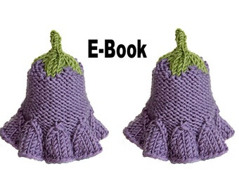 Knitting pattern eBook egg fairy flower