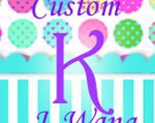 Custom Order Monogram
