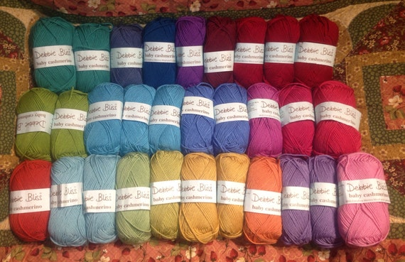 Debbie Bliss Baby Cashmerino - Assorted Colors - 30 skeins