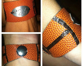 Personalized Basketball Bracelet
