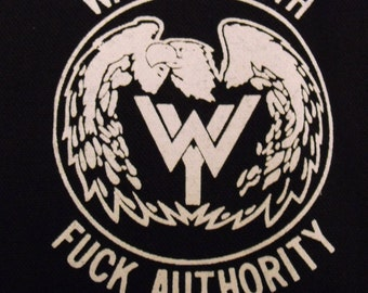 WASTED YOUTH patch punk rock Free Shipping