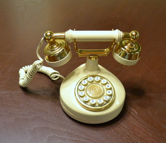 Vintage French Style Western Electric Celebrity Princess Push