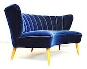 Cocktail sofa - 1950 - vintage