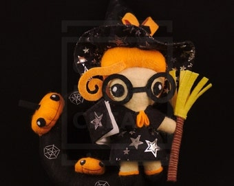 Doll/Witch/Halloween/Kawaii/Ooak