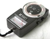 Vintage 1960s Allied Radio Light Meter Model KG 275A with PDF of original manual