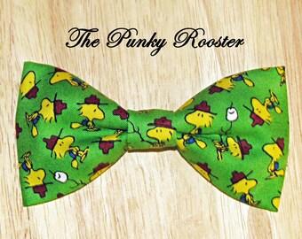 Bow Tie, Woodstock, Snoopy, Peanuts, Clip on Bow Tie, Boys Bow Tie