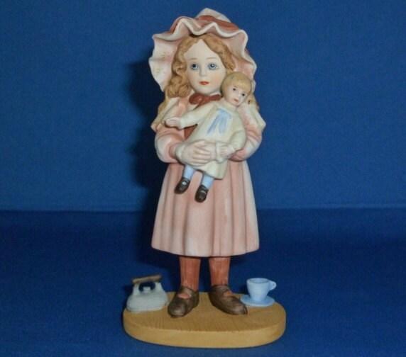 Jan Hagara Figurines: Jan Hagara Amanda Figurine 1980s Limited Edition No. 2016