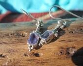 Amethyst and Sterling Earrings
