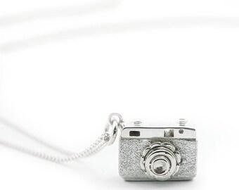 Silver Camera Pendant