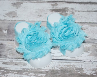 BAREFOOT SANDALS Aqua Baby Barefoot Sandals, Baby Shoes, Baby Toeless Sandals, Baby Sandals, Newborn Toe Blooms, Baby Shoes