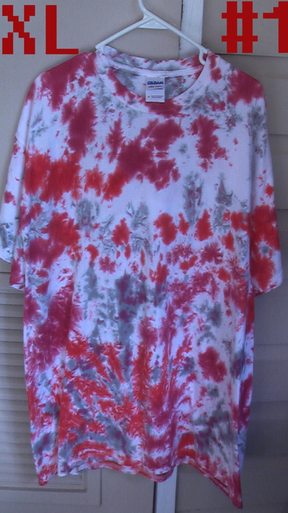 4 different styles to choose from tie dye shirts by ill