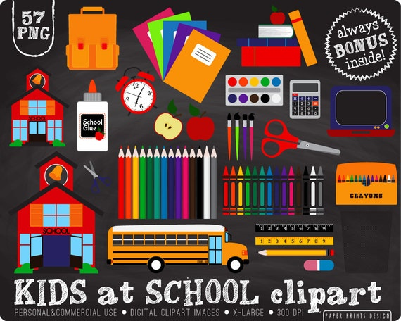 57 PNG Kids at School clipart school clipart by ...